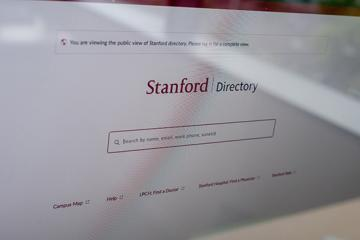 StanfordWho screen