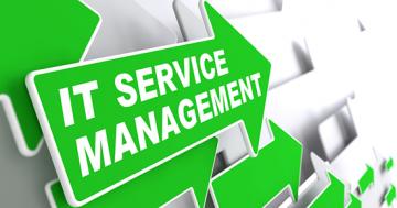 Image of IT Service Management arrow