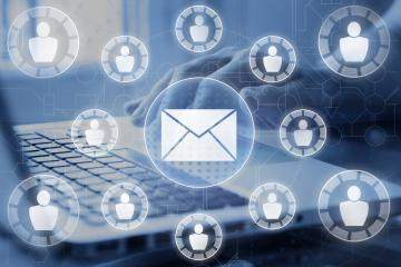 The Mailman list service simplifies the process of sending emails to groups.